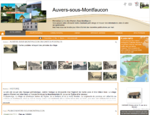 site mairie auvers lapagelocale